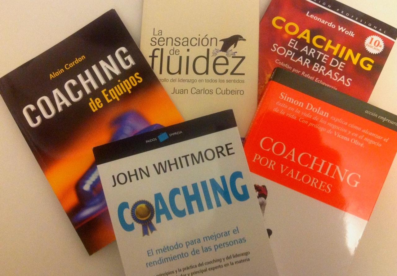 Los 5 mejores libros de Coaching.